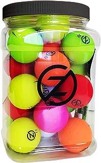 Zero Friction Spectra Golf Ball Super Jar, Multicolor, 1/2 Gallon