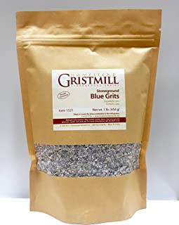 Homestead Gristmill — Organic, Non-GMO, Stone-ground Blue Corn Grits (2 Pack)