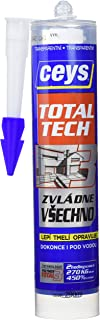 Ceys CEY400507226 Total Tech Transparente Cartucho 290Ml, 0