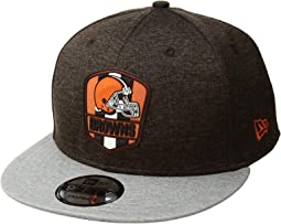 9Fifty Official Sideline Away Snapback - Cleveland Browns