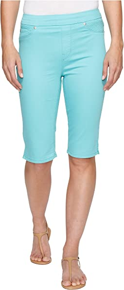 "Pull-On 13"" Bermuda Dream Short in Soft Touch Denim"