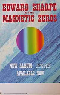 Edward Sharpe and the Magnetic Zeroes - Here - Rare Advertising Poster 11x17