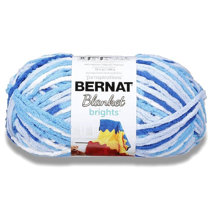 Bernat Blanket Bright Yarn, Waterslide Varg