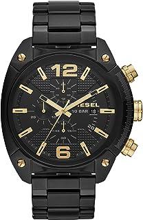 Mens Chronograph Quartz Watch with Stainless Steel Strap DZ4504