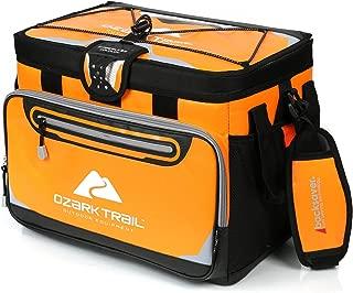 Ozark Trail 30-Can Zipperless Cooler, Orange