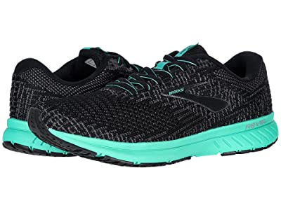 Brooks Revel 3 (Black/Blackened Pearl/Arcadia) Women
