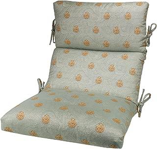 Comfort Classics Inc. Sunbrella Outdoor CHANNELED Chair Cushion 22W x 44L x 3H Hinge at 24