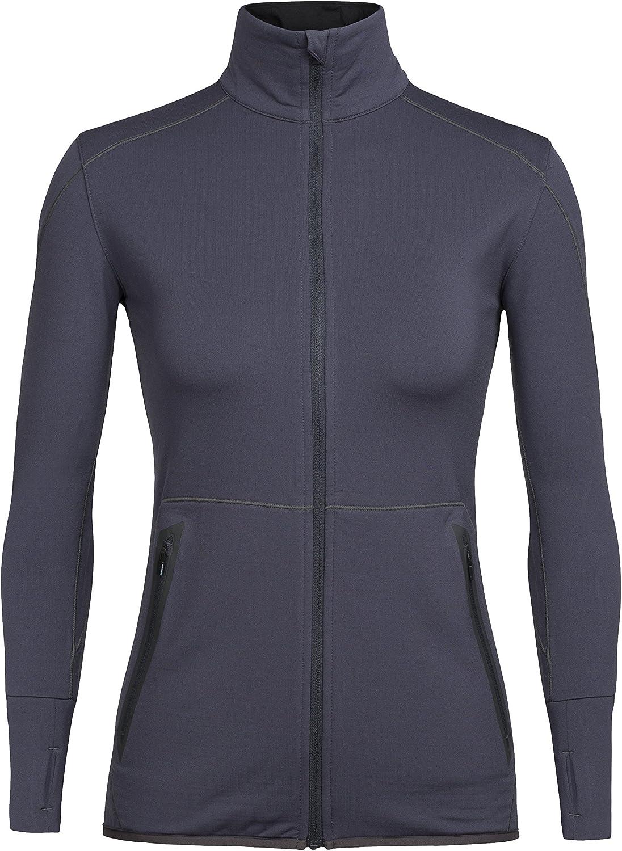 Icebreaker Quality inspection 5 popular Merino Women's Comet Long Wool Sleeve Top Zip