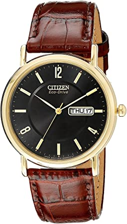 Citizen Watches BM8242-08E Eco-Drive Leather Watch