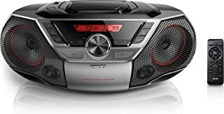 Philips AZ700T CD Sound Machine Bluetooth NFC USB Direct 12 Watt Black