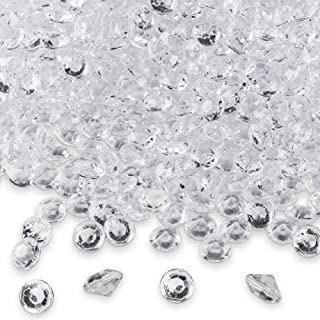 Diamond Table Confetti, Vase Filler, Party Decorations for Weddings, Bridal Shower,..