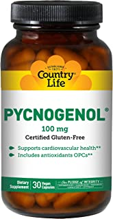 Country Life Pycnogenol - 100 mg - 30 Vegetarian Capsules