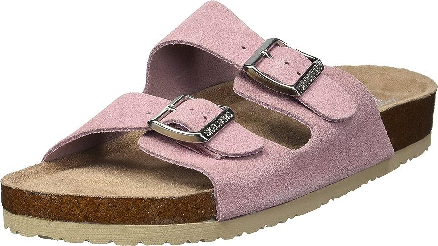 Skechers Wohommes Granola-Fresh Spirit-Classic Comfort Two Strap Slide Sandal, rose, 10 M US