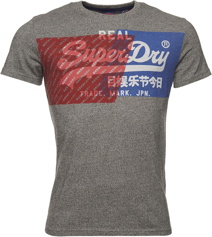 Superdry Max 73% Max 44% OFF OFF Vintage Logo Dye T-Shirt Overlap