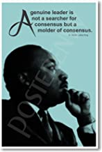 Martin Luther King - A Genuine Leader - Famous Person Classroom Poster