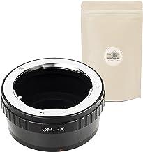 Om FX ∞ Anillo de Adaptación para Lente Olympus Om 4/3 a Camara Fuji X - Adaptout Marca francesa