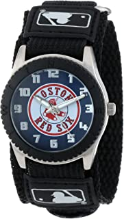 Game Time Youth MLB Rookie Black Watch - Boston Red Sox (Sox Logo)