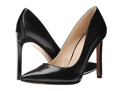 Nine West Tatiana Pump (Black Leather) High Heels