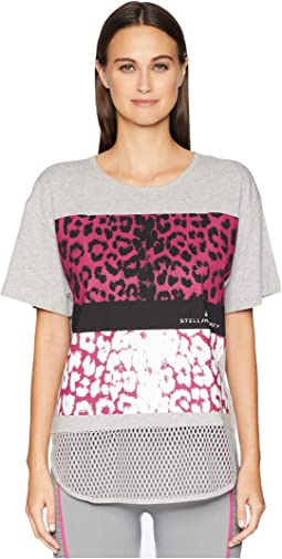 Essentials Leopard Tee DM5354