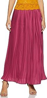 Amazon Brand - Eden & Ivy Synthetic Pleated Skirt