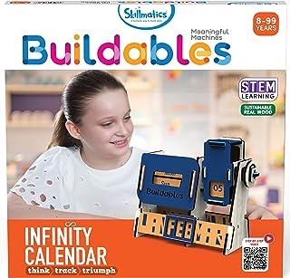 Infinity Calendar (8 99 Years) Stem Learning, Educational and Construction Activity Toy, Skillmatics, SKILL52BPC