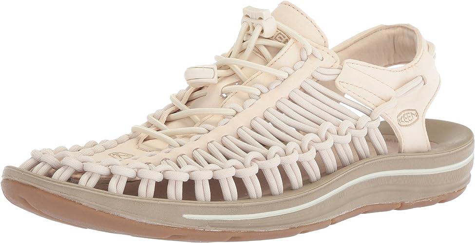KEEN Wohommes Uneek-W Sandal, blanccap Cornstalk, 8.5 M US