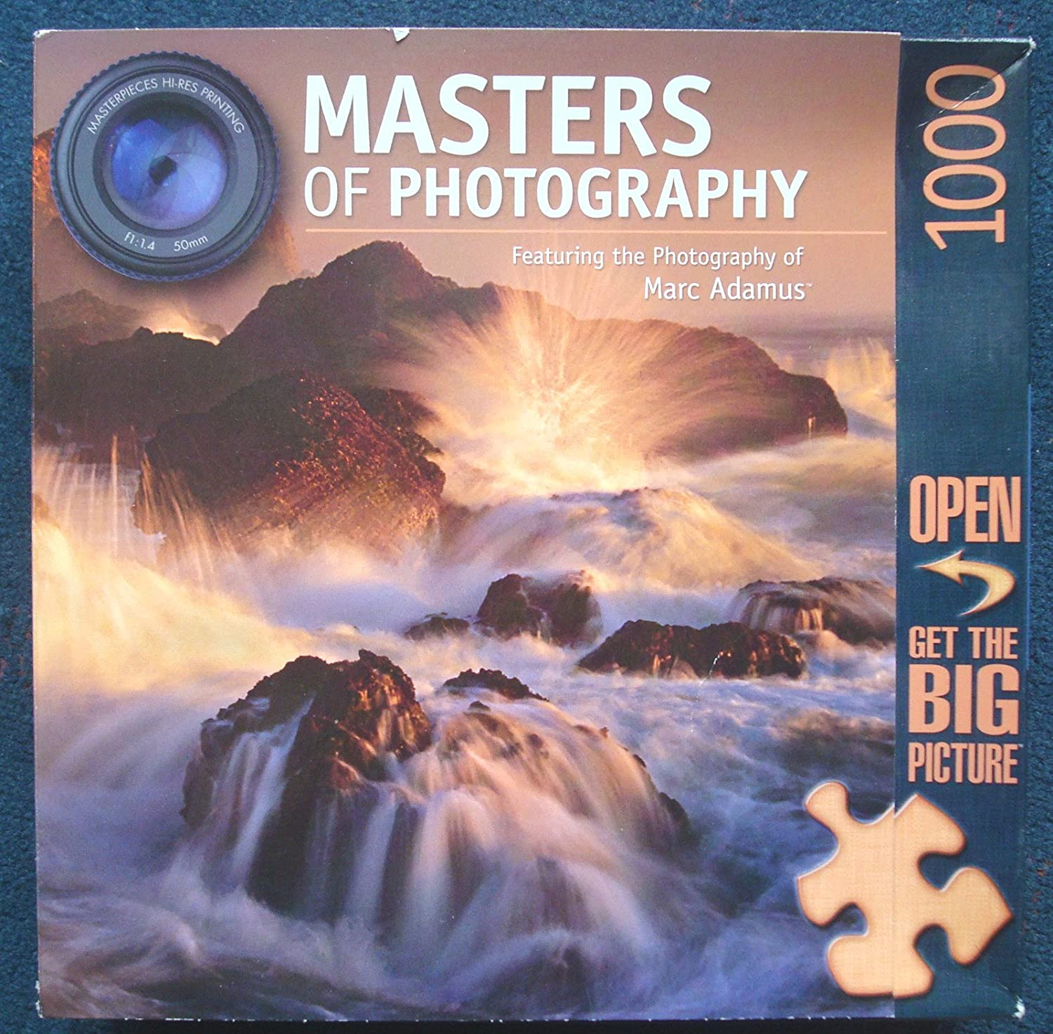 Masters of Photography Featuring Marc Adamus Ocean's Fury 1000 Piece Puzzle