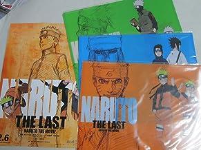 NARUTO Naruto The movie THE LAST : Movie ticket limited comics cover : Set