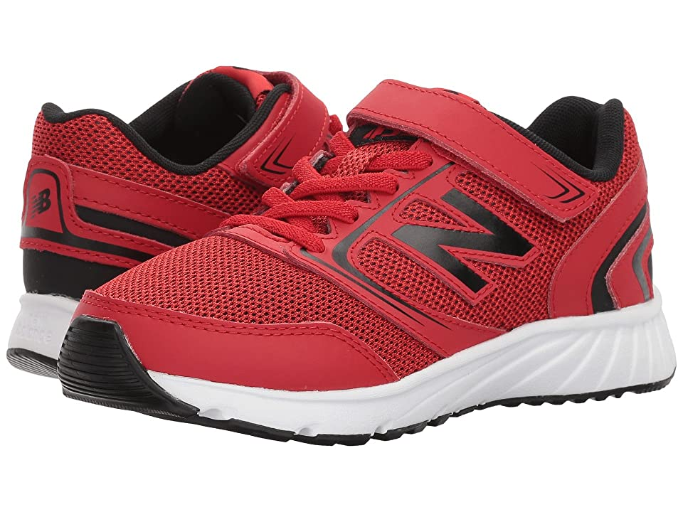 New Balance Kids KA455v1Y (Little Kid/Big Kid) (Team Red/Black) Boys Shoes