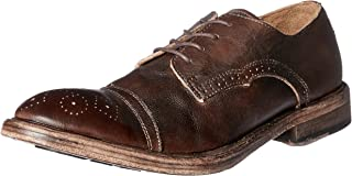 Antoine & Stanley Men's Ezekiel Oxford Shoes, Brown