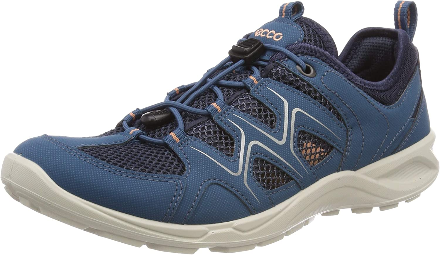 ECCO Women's Low Rise Hiking Shoes 再再販 安売り Cla Indian Marine Muted Teal