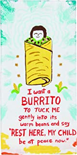 Blue Q Dish Towel, I Want a Burrito, Screen-Printed with Water-Based Inks, 100% Cotton, 28 by 21 Inches (WW338)