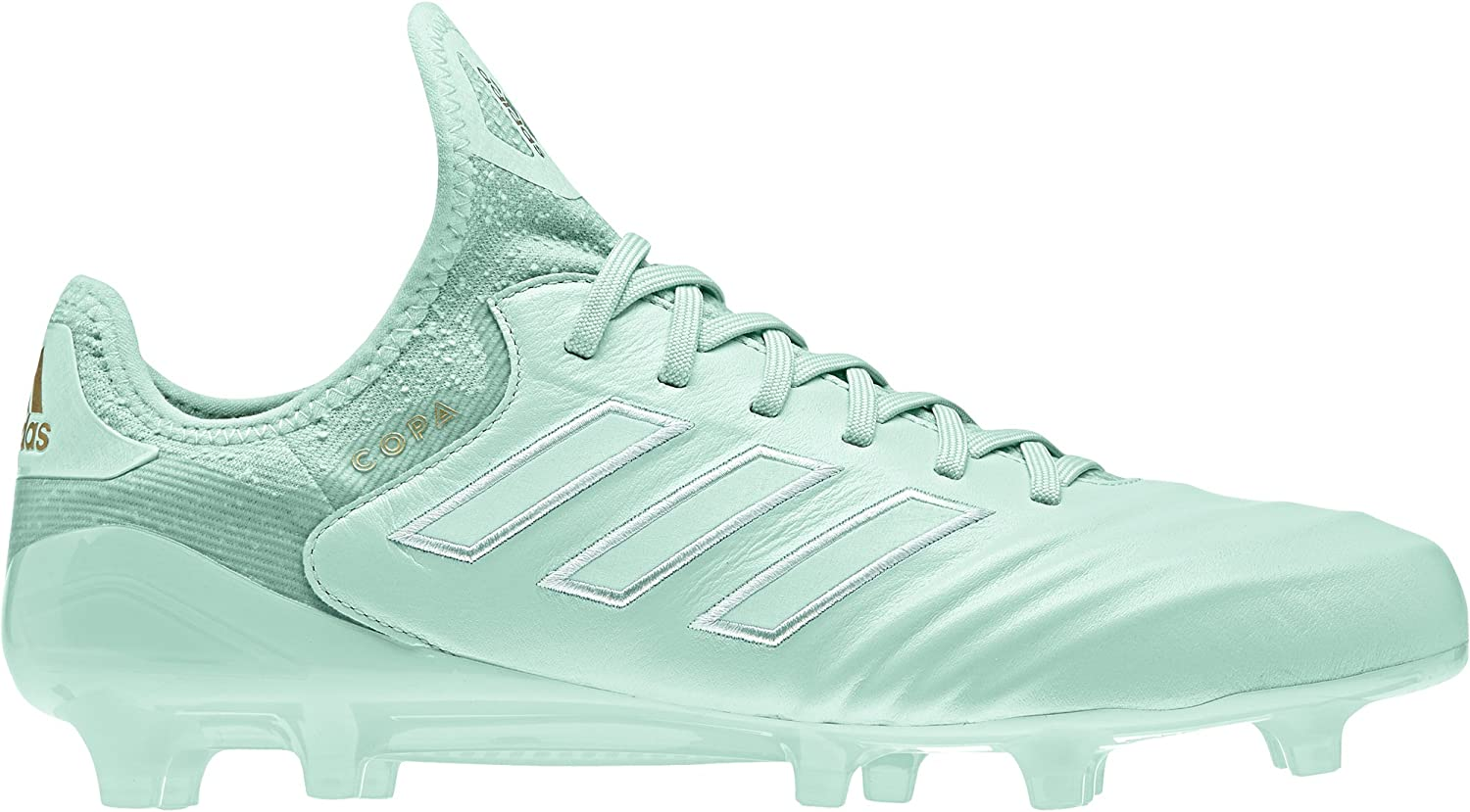 Adidas Copa 18.1 Firm Ground Cleat - Men's Soccer 9 Clear Mint gold Metallic