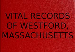 Vital Records of Westford, Massachusetts