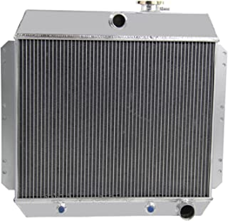 CoolingCare 4 Row Aluminum Radiator for 1949-1954 Chevy Cars, Bel Air Sedan Delivery Styleline 3.5L 3.8L 3.9L