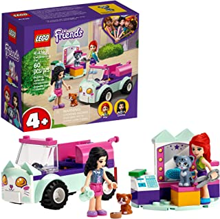 LEGO Friends Cat Grooming Car 41439 Building Kit; Collectible Toy That Makes a Great Holiday or Birthday Gift Idea, New 20...