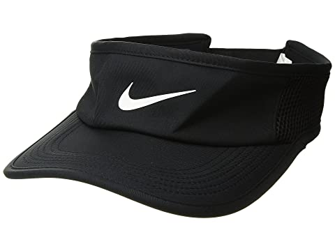 Nike Aerobill Featherlight Visor at Zappos.com 5b196747611