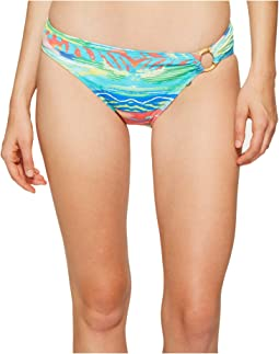 LAUREN Ralph Lauren - Ikat Stripe Ring Hipster Bottom
