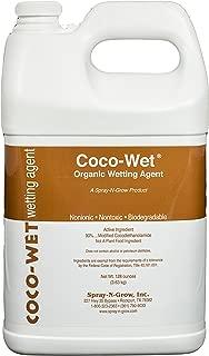 Spray-N-Grow COCO1G Coco Wet Organic Wetting Agent, 1 Gallon