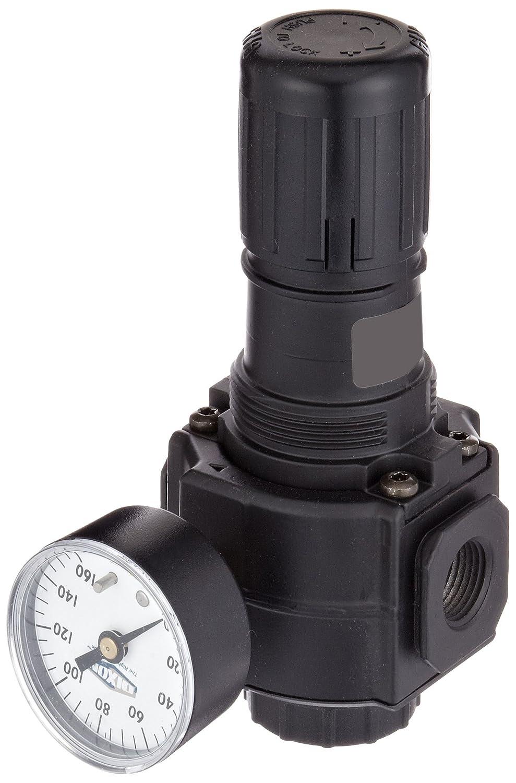 5-125 PSI Dixon R11-061RG Norgren Series General Regulator with Gauge 1//2 Port Size 260 SCFM