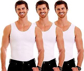 Insta Slim mens Compression Crew-Neck Shirt