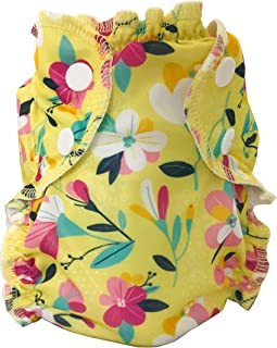AppleCheeks Washable Swim Diaper (Size 2, Bloom)