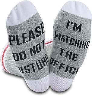 Generic Brands, The Office Gift - Calcetines de televisión con mensaje