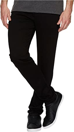 Folsom Athletic Slim Fit in Black Rinse