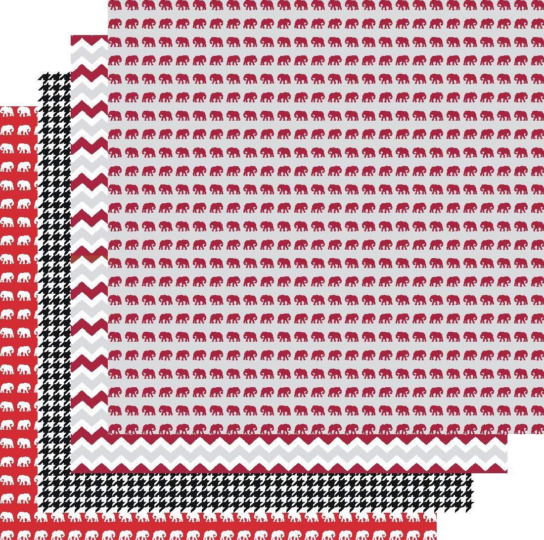 Crochet Alabama Football Pattern   Free Crochet Patterns   1092x1100