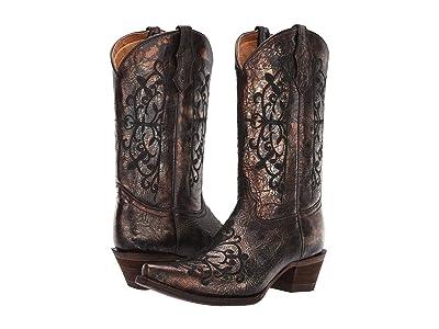 Corral Boots Kids A3154 (Little Kid/Big Kid) Cowboy Boots