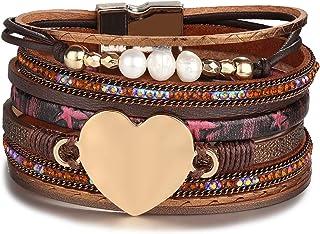 2013e59a916e Amazon.es: pulseras de piel