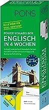 PONS Power-Vokabelbox Englisch in 4 Wochen - Schnell und ein