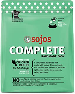 Sojos Chicken Recipe Adult Dog Food, 1.75Lb
