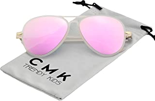 CMK Trendy Kids Kids Aviator Sunglasses for Boys and Girls